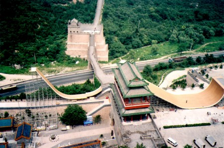 Danny-Way's-Jump-over-the-Great-Wall-of-China